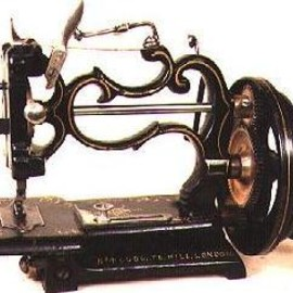 Grover and Baker - sewing machine