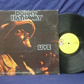 Donny Hathaway - Live (Record: Atco SD 33-386 U.S.early press)