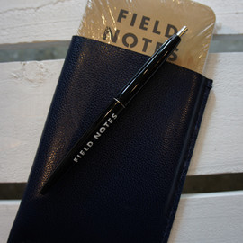 Field Notes - with hand made leather case