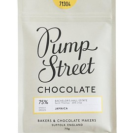 Pump Street Bakery,Liberty London - Jamaica 75% Chocolate Bar