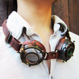 Forêt - Steampunk Goggles Version1 スチームパンク ゴーグル