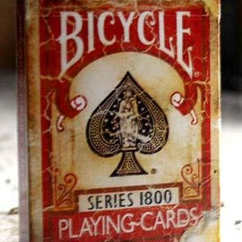 The U.S. Playing Card Company - Bicycle Vintage Series 1800 (Red)