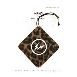 retaW - FRAGRANCE CAR TAG 「retaW x Fragment Design」