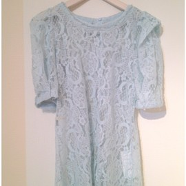 Girly Rose - Blue Lace dress