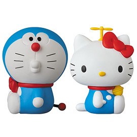 MEDICOM TOY - UDF DORAEMON meets HELLO KITTY DORAEMON × HELLO KITTY(2体セット)