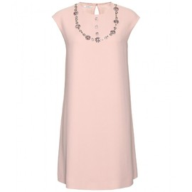 miu miu - EMBELLISHED SHIFT DRESS