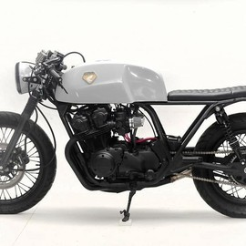 Steel Bent Customs - HONDA CB750 Cafe racer