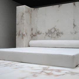 Rick Owens - White Carrara Marble Bed