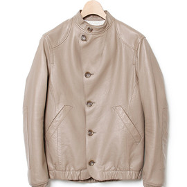 nonnative - DRIFTER BLOUSON - SHEEP LEATHER