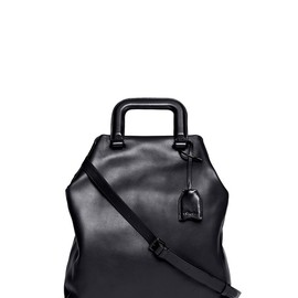 3.1 Phillip Lim - WEDNESDAY TRAPEZOID LEATHER TOTE