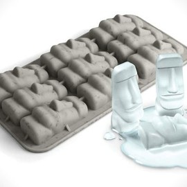 STONE COLD EASTER ISLAND ICE TRAY