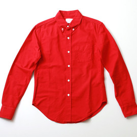 BAND OF OUTSIDERS - red OX Shirts