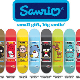 The Girl Skate Board Company - SanrioGirl Skateboards