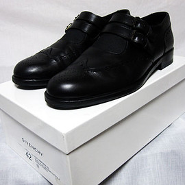 GIVENCHY - GIVENCHY 10AW MONK STRAP SHOES (BK)