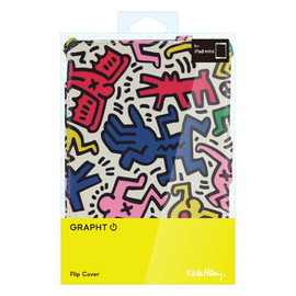 Keith Haring - Keith Haring Collection Flip Cover for iPad mini Chaos
