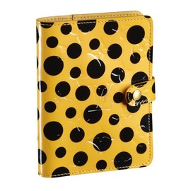 LOUIS VUITTON - Yayoi Kusama 草間彌生 Louis Vuitton Small Cover Agenda Monogram Vernis Dots Infinity yellow