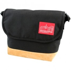 Manhattan Portage - Suede Fabric Casual Messenger