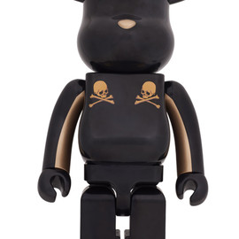 MEDICOM TOY - BE@RBRICK mastermind JAPAN GOLD STRIPE 1000%