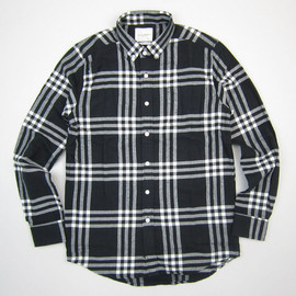Saturdays Surf NYC - Crosby Triple Plaid Shirt Black