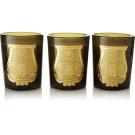 Cire Trudon - Odeurs Royales set of three scented candles, 3 x 100g