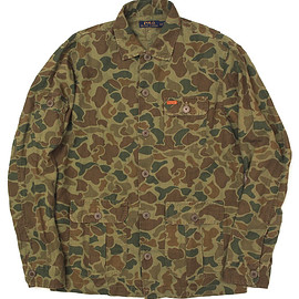 RALPH LAUREN - CAMO TWILL OVER SHIRT