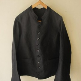 ANATOMICA - DOLMAN/FRENCH LINEN BLACK