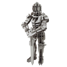 MUJI - Press out medieval knight