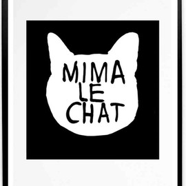♡ - Mima Le Chat print {Exclusive}