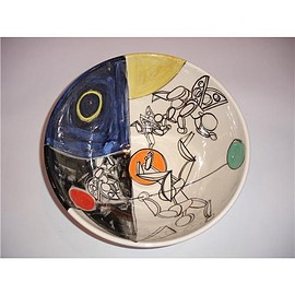 Peter Shire - Ceramic Round Bowl