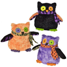 """MARY MEYER - Haunted Owl - Set of 3 - 5.5"""" picture"""