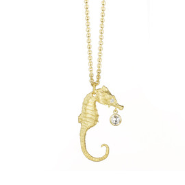 FINN - Large Seahorse Necklace