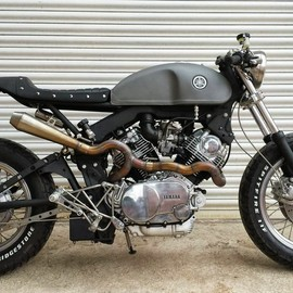 down and out cafe racers - TR1 YAMAHA XV920R