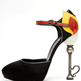 miu miu - Candlestick Mary Jane Platform pumps