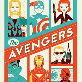 Marvel's The Avengers Art by Dave Perillo. TM & © 2012 Marvel & Subs. www.marvel.com.