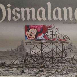 Jeff Gillette - BANKSY Oficial dismaland Poster