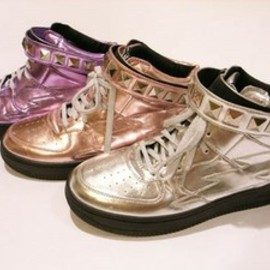 Candy stripper - THUNDER METALLIC SNEAKERS
