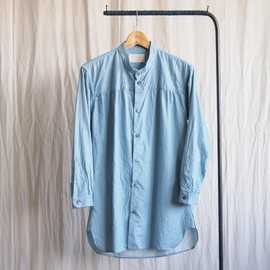 TROVE - WATERING 7SLEEVE SHIRT #l.blue