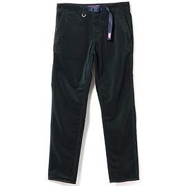 THE NORTH FACE PURPLE LABEL - THE NORTH FACE PURPLE LABEL / Polyester Corduroy Webbing Belt Pants