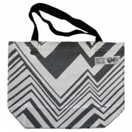 Atoms for peace - BLACK AND WHITE TOTE BAG