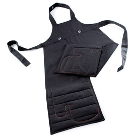 Royal VKB - Apron + Built-in Oven Mitts