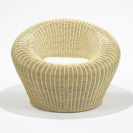 Isamu Kenmochi - Rattan Round Chair, Model T