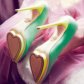 Vogue - Charlotte Olympia Be My Valentine collection Debonaire