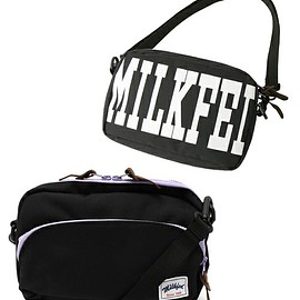 MILKFED. - LOGO SHOULDER BAG