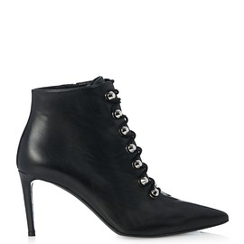 BALENCIAGA - Pre-Fall 2015 Point-toe leather ankle boots
