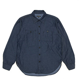 ENGINEERED GARMENTS - Work Shirt-Lt.Weight Denim-Indigo