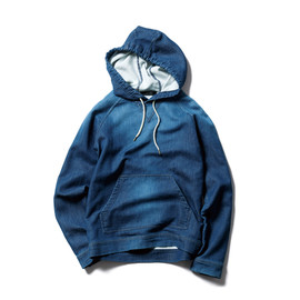 SNOW PATTERN SWEAT PARKA