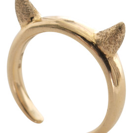 The Dayz tokyo - Devil's Head Ring (gold)