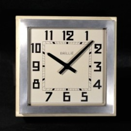 "フランス・アンティーク - 1930-40's French ""Art Déco"" Wall Clock"