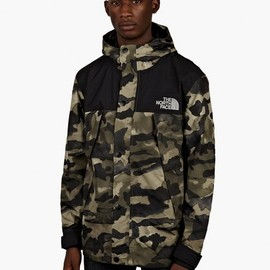 THE NORTH FACE - Metro Mountain Parka - Olive Camo
