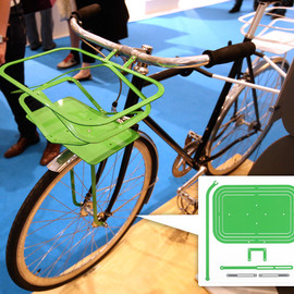 MIO - POP UP BICYCLE BASKET